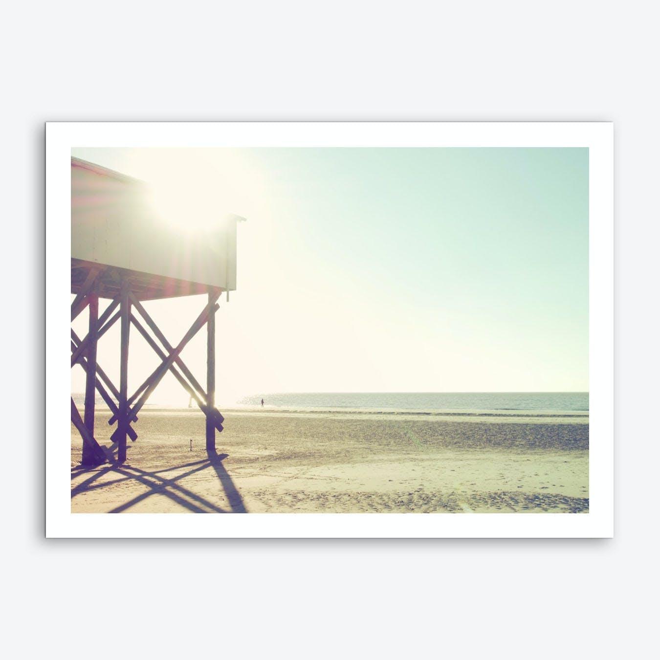 Sun And Beach_2 Art Print