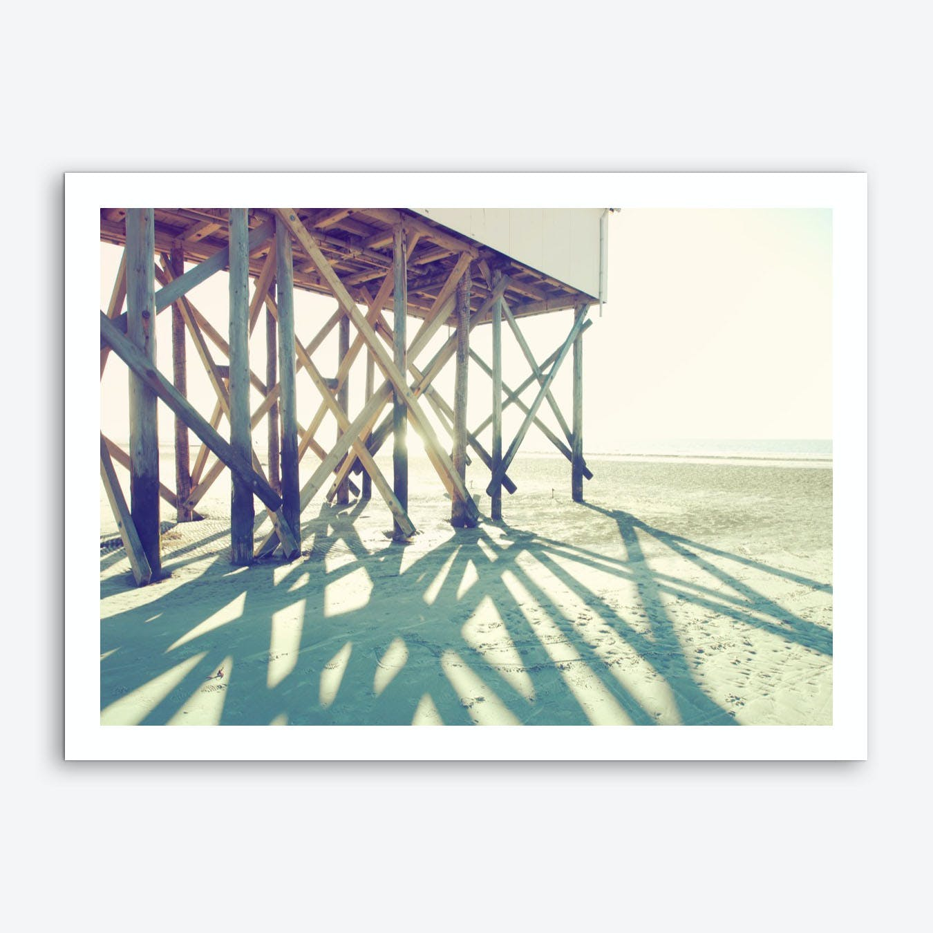 Sun And Beach_3 Art Print