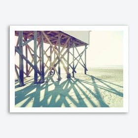 Sun And Beach_3 Art Print