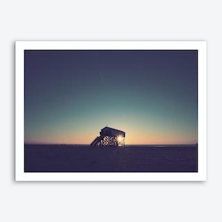 Sunset And Beach_5 Art Print