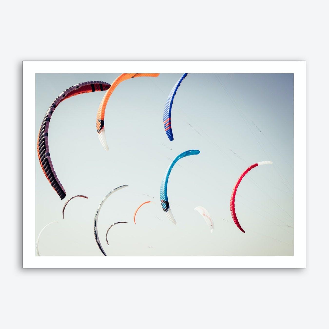 Beach Kite_1 Art Print