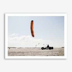 Beach Kite_3 Art Print