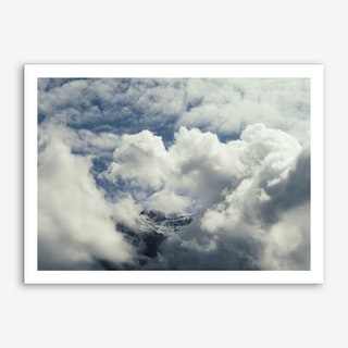 Of Clouds And Mountains_2 Art Print