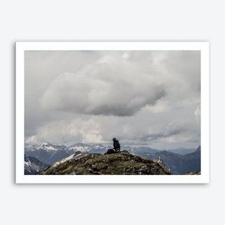 Of Clouds And Mountains_4 Art Print