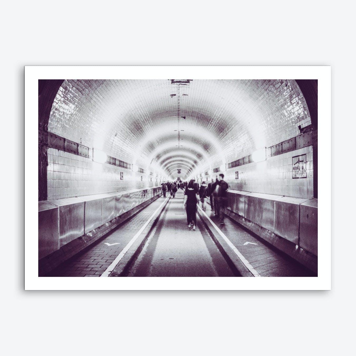 Tunnel Talks Art Print