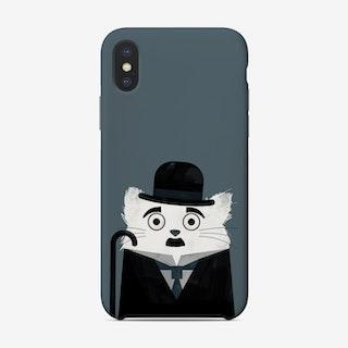 Cat Chaplin Phone Case