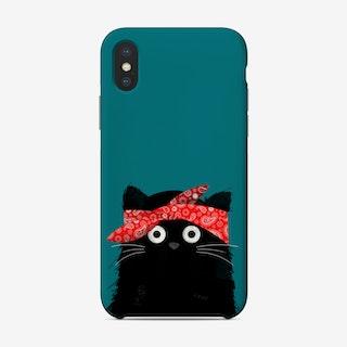 Cat Tupac Phone Case