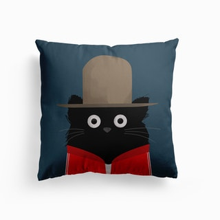 Cat Pharrell Canvas Cushion