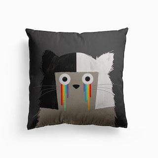 Cat Sia Canvas Cushion