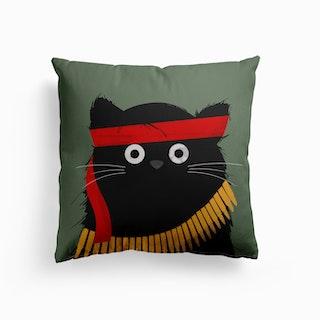 Cat Rambo Canvas Cushion