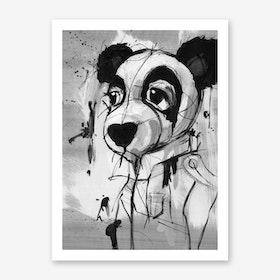 Panda Admiral Art Print