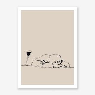 Slumped Art Print