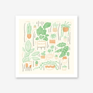 We Love Plants Art Print