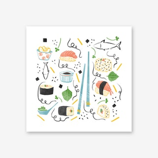 Sushi Party Art Print