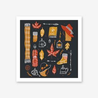 Cosy Vibes Art Print