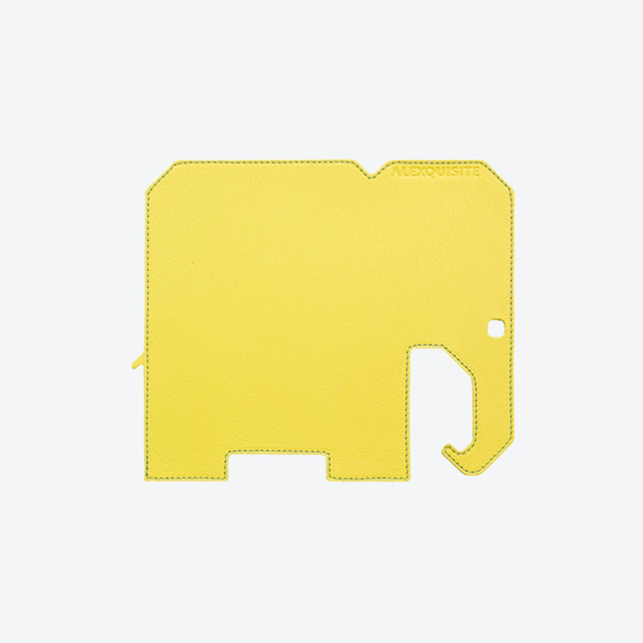 Elephant PET Mousepad in Yellow