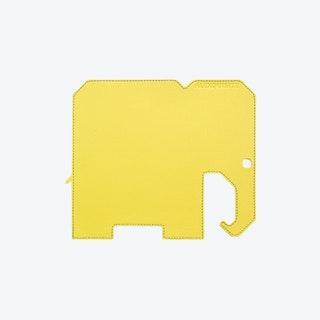Elephant PET Mousepad in Yellow