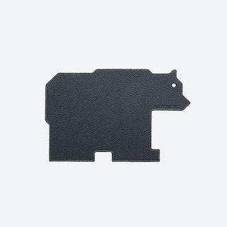 Bear PET Mousepad in Midnight