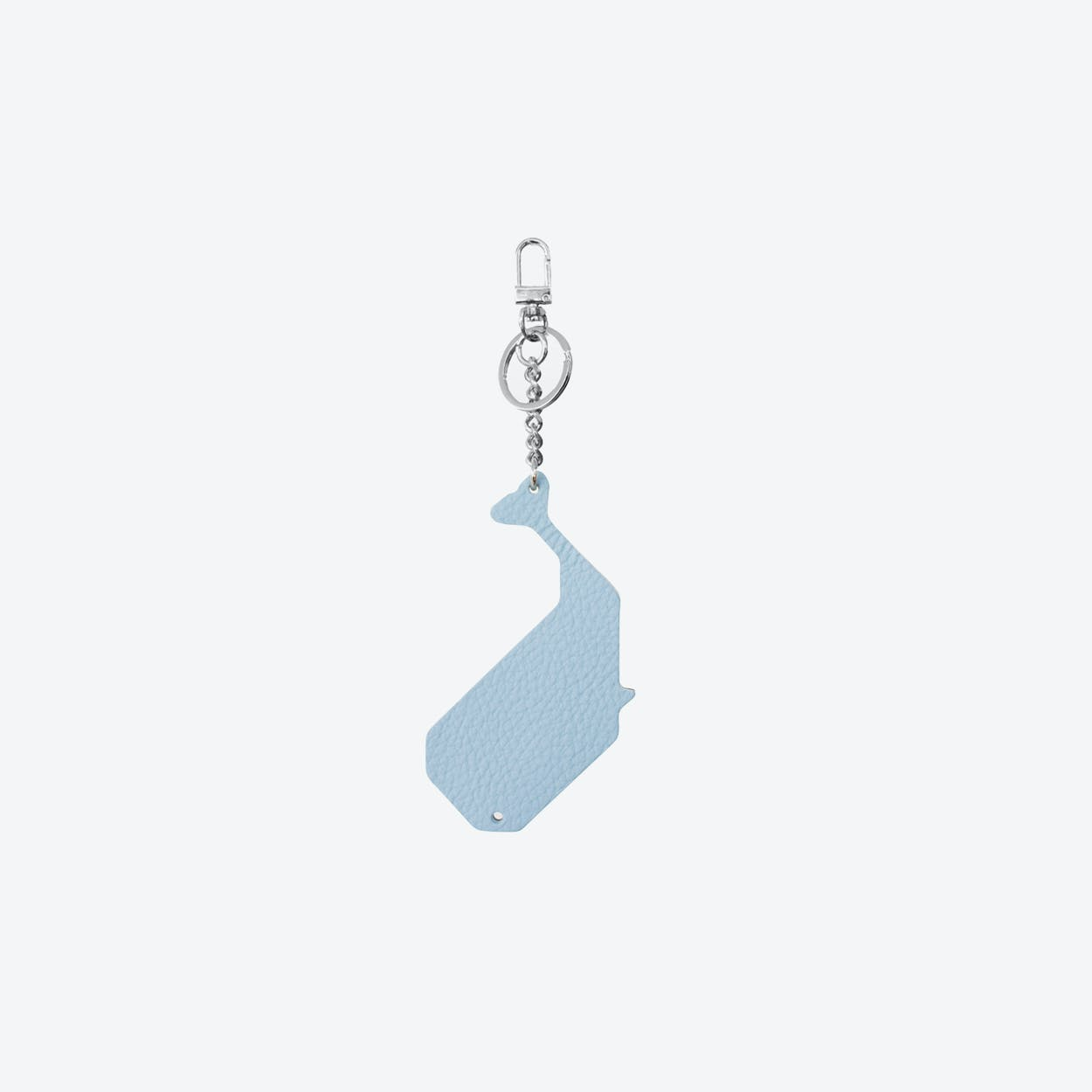 Whale PET Bag Charm in Ciel