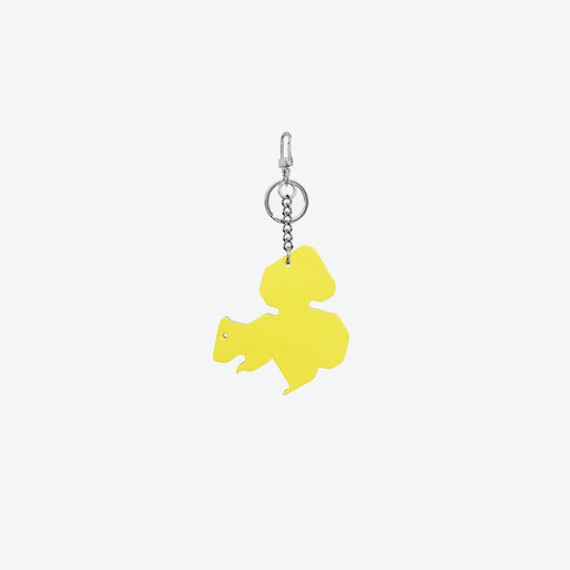 Squirrel PET Bag Charm in Yellow