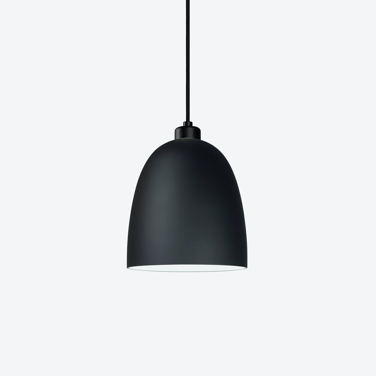 AWA Single Pendant Light in Matte Black