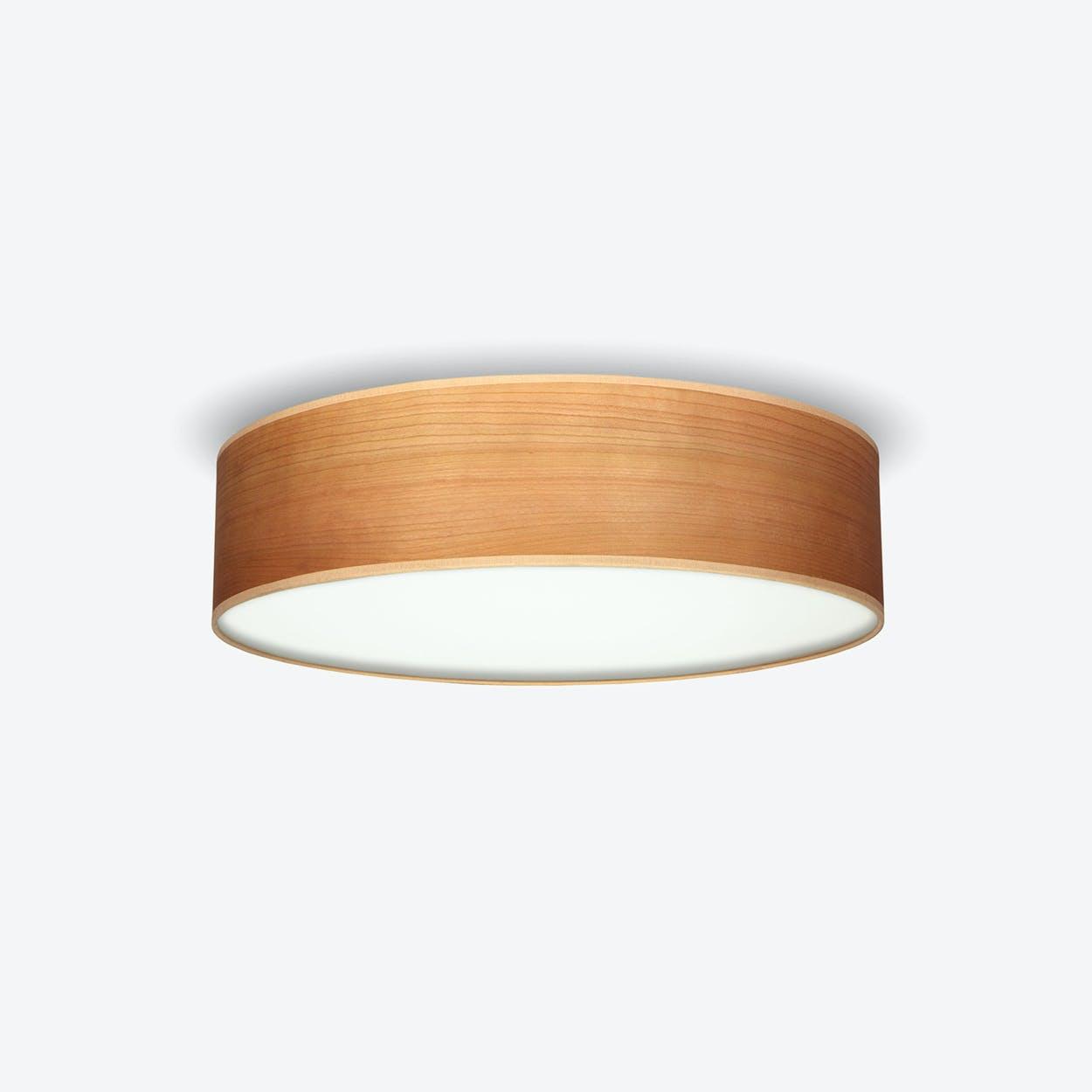 TSURI Large Ceiling Lamp in Cherry