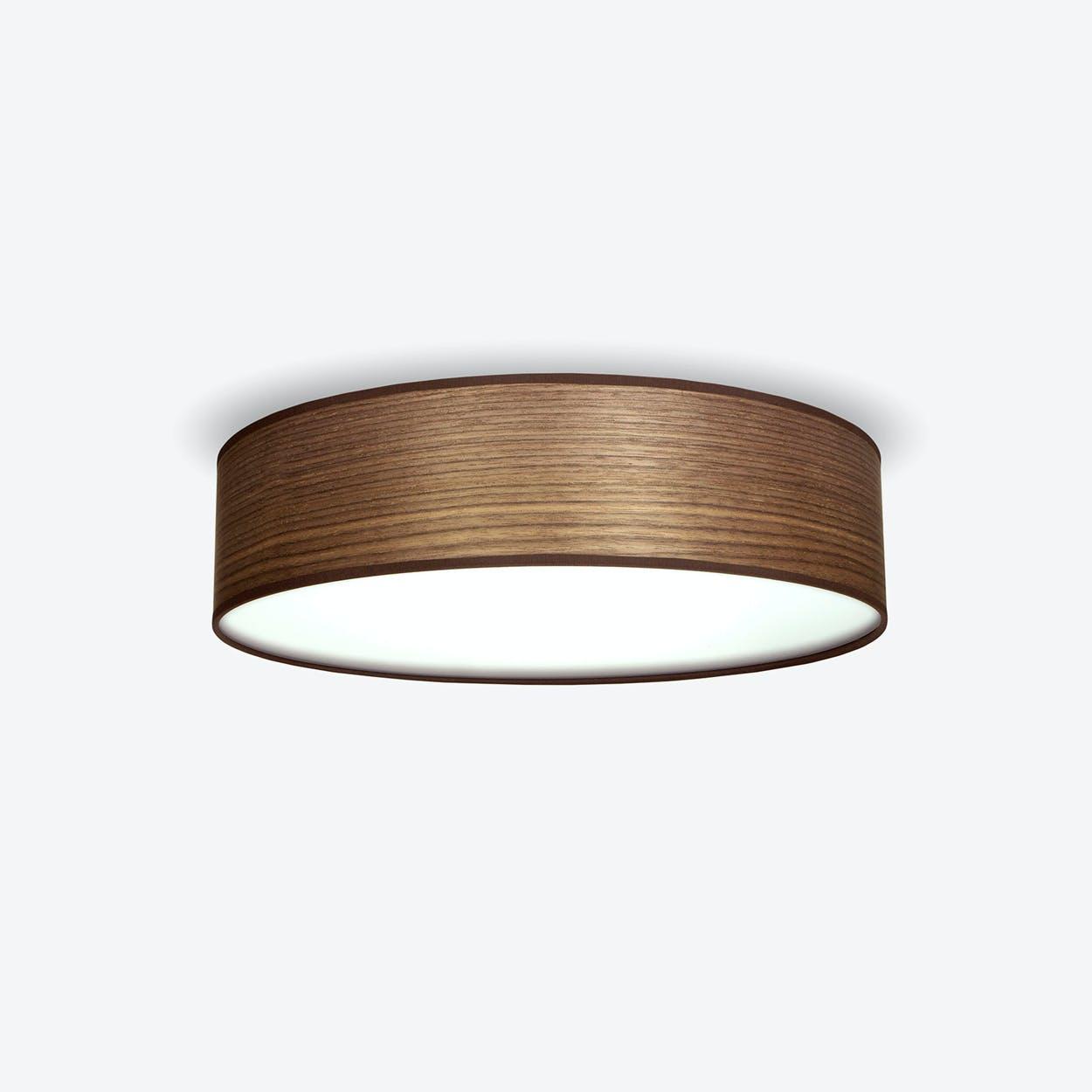 TSURI LargeCeiling Lamp in Walnut