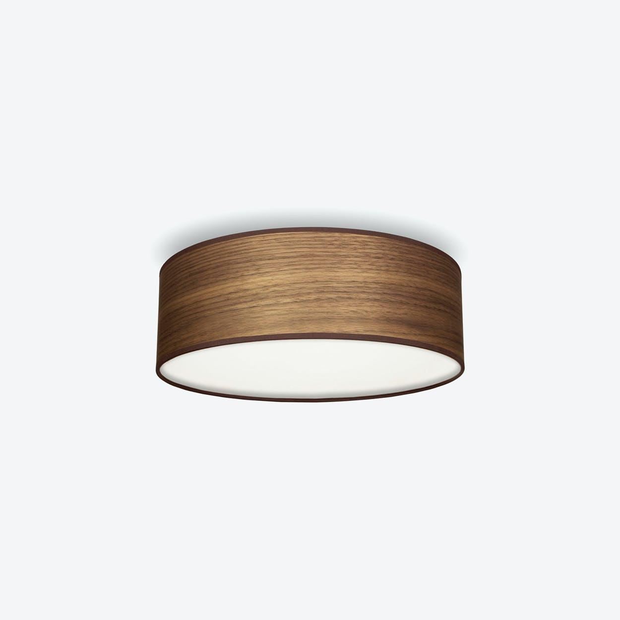 TSURI Medium Ceiling Lamp in Walnut