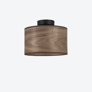 Tsuri S Ceiling Lamp in Walnut