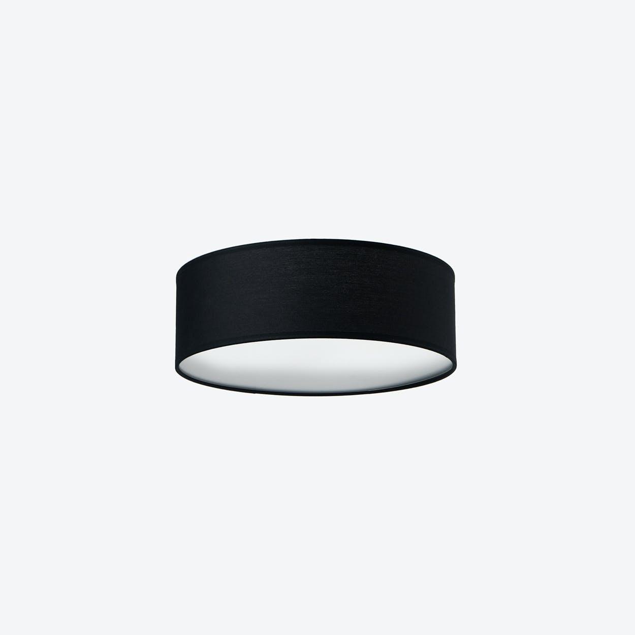 MIKA Medium Ceiling Lamp in Black