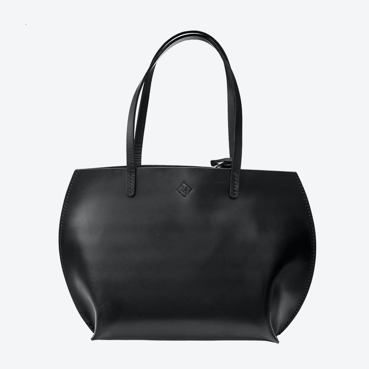 Luke Tote Bag in Black
