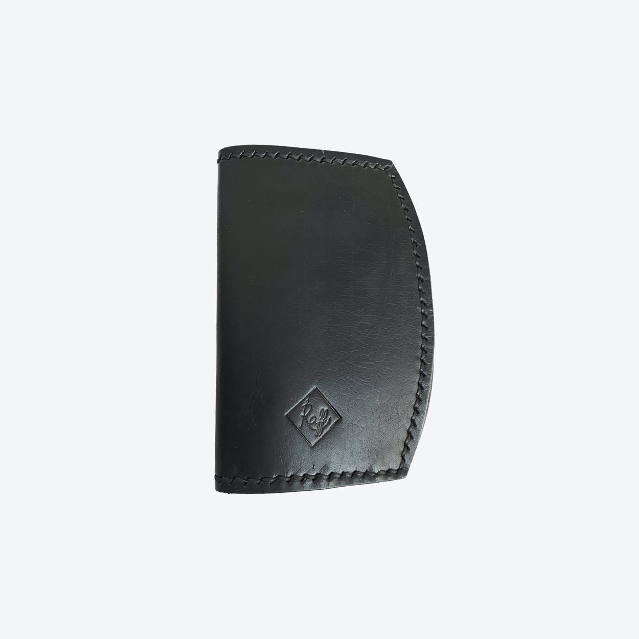 Iris Passport Holder in Black