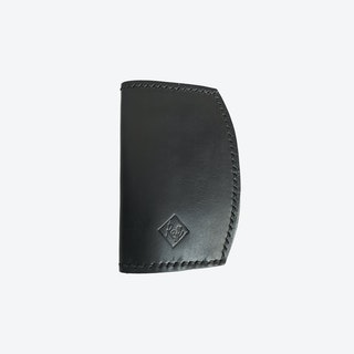 Iris Passport Holder in Black