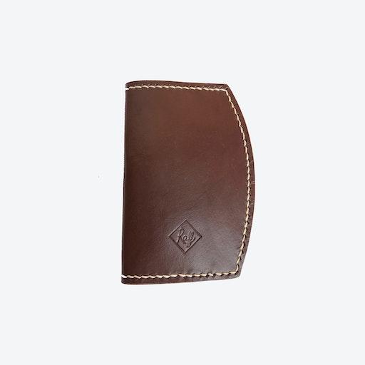 Iris Passport Holder in Brown