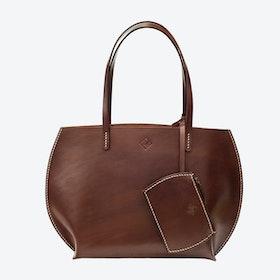 Luke Tote Bag in Brown