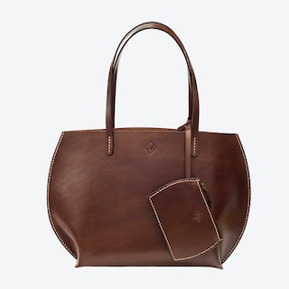 Luke Tote Bag in Brown