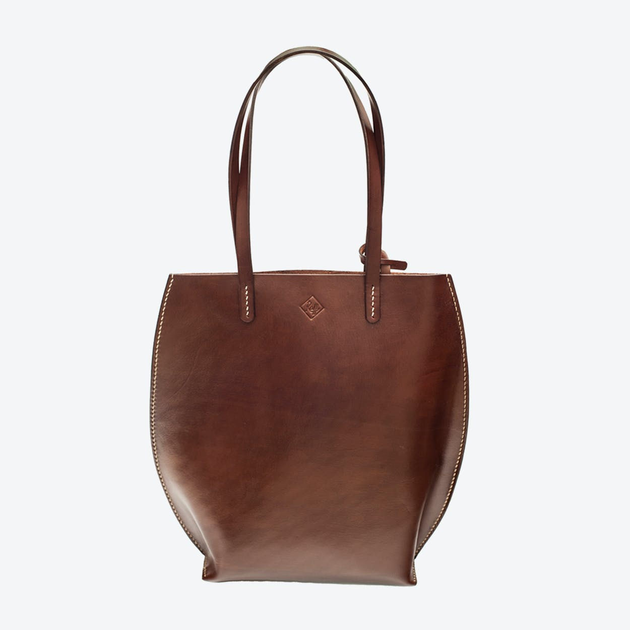 Maus Tote Bag in Brown