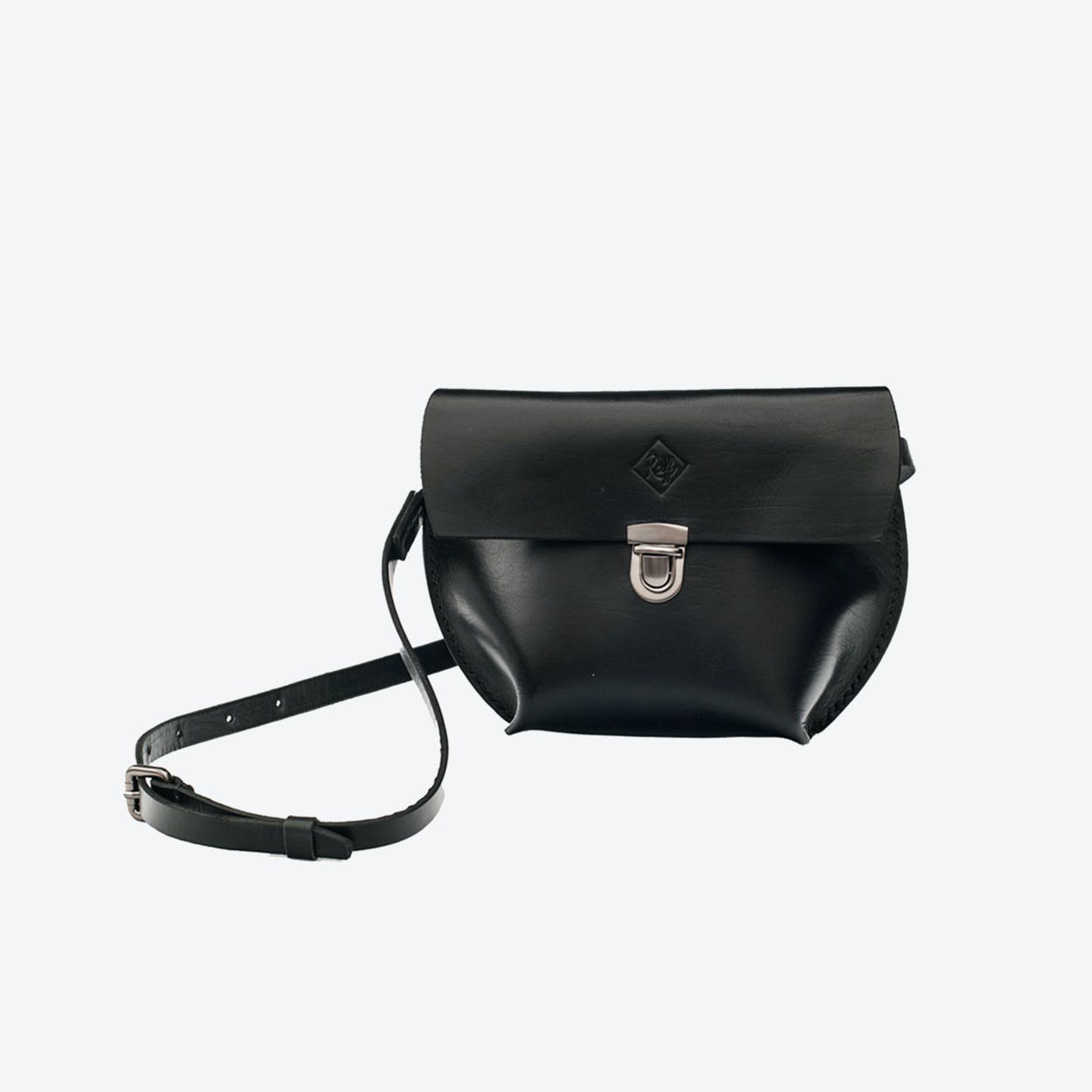 Vega Crossbody Bag in Black