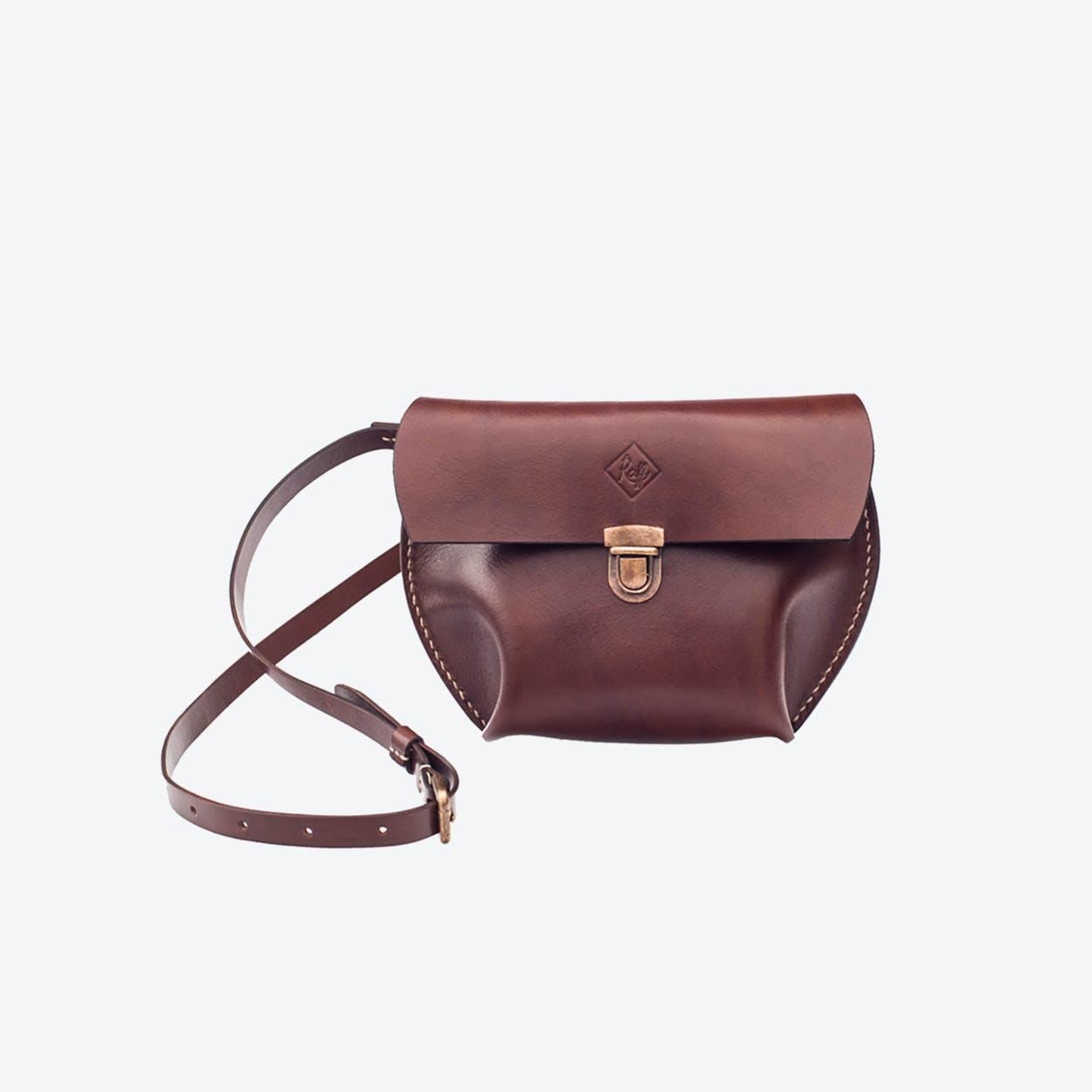 Vega Crossbody Bag in Brown