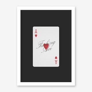 Ace Art Print