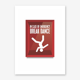 Breakdance Art Print