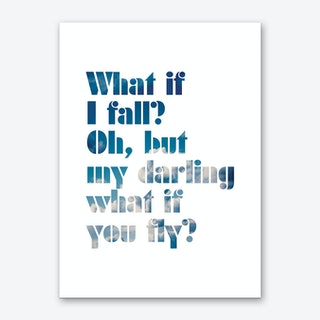 Oh My Darling Art Print