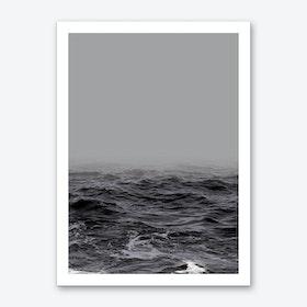Ocean Wave X Art Print