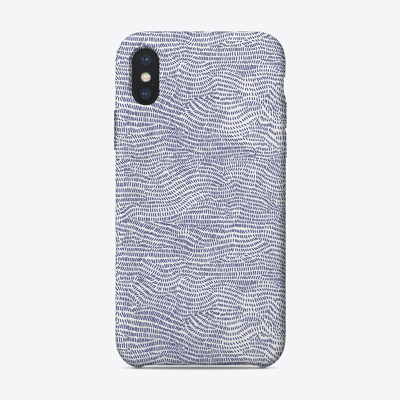 Blue Wave  I iPhone Case