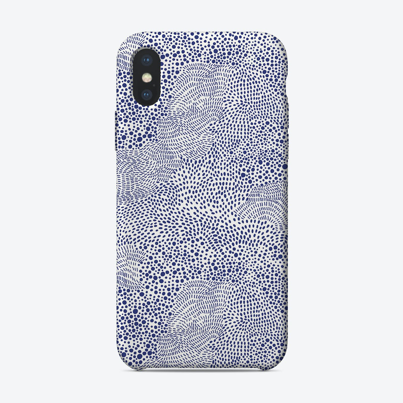 Blue Wave  II iPhone Case