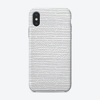 Blue Wave  III iPhone Case