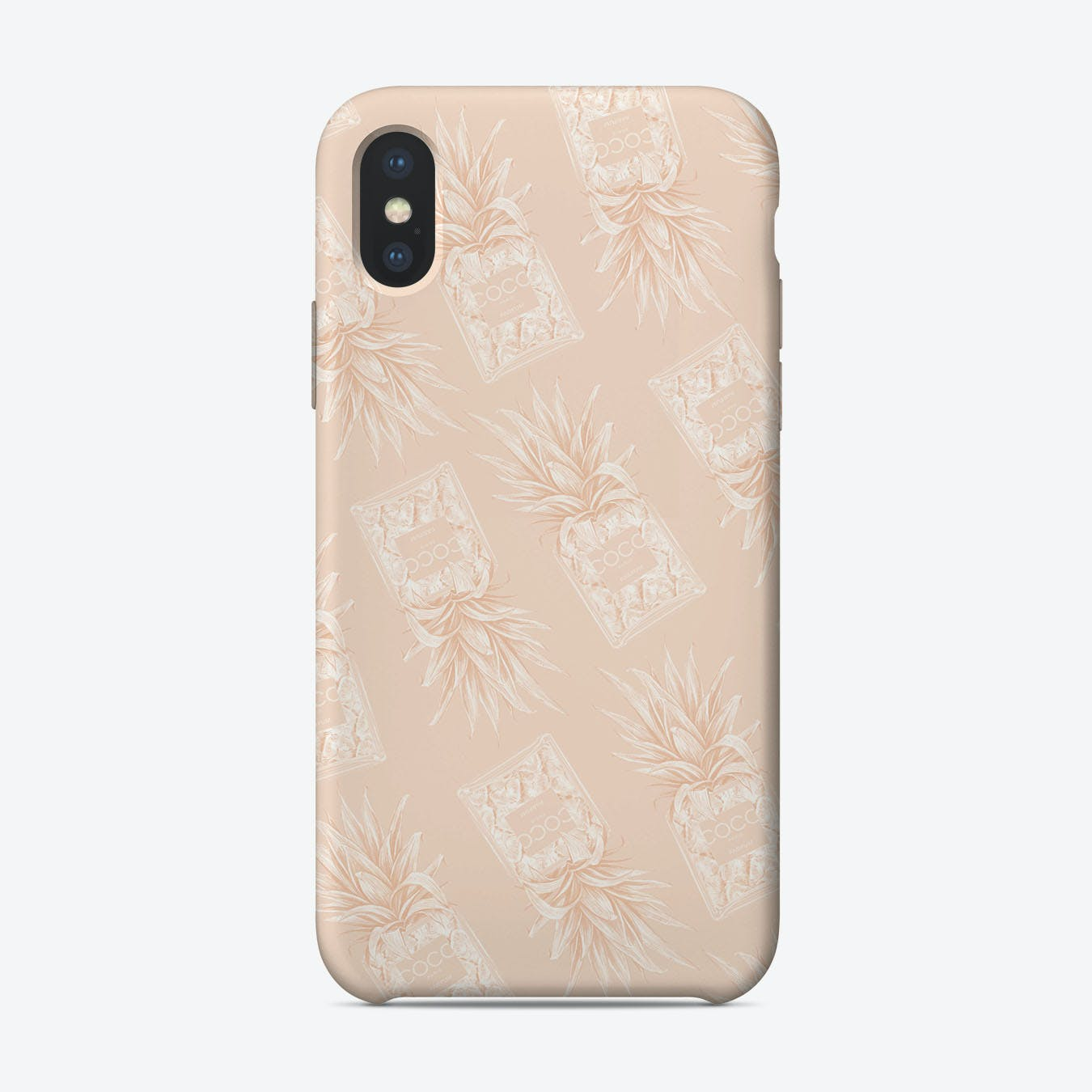 Chanel Pinapple III iPhone Case