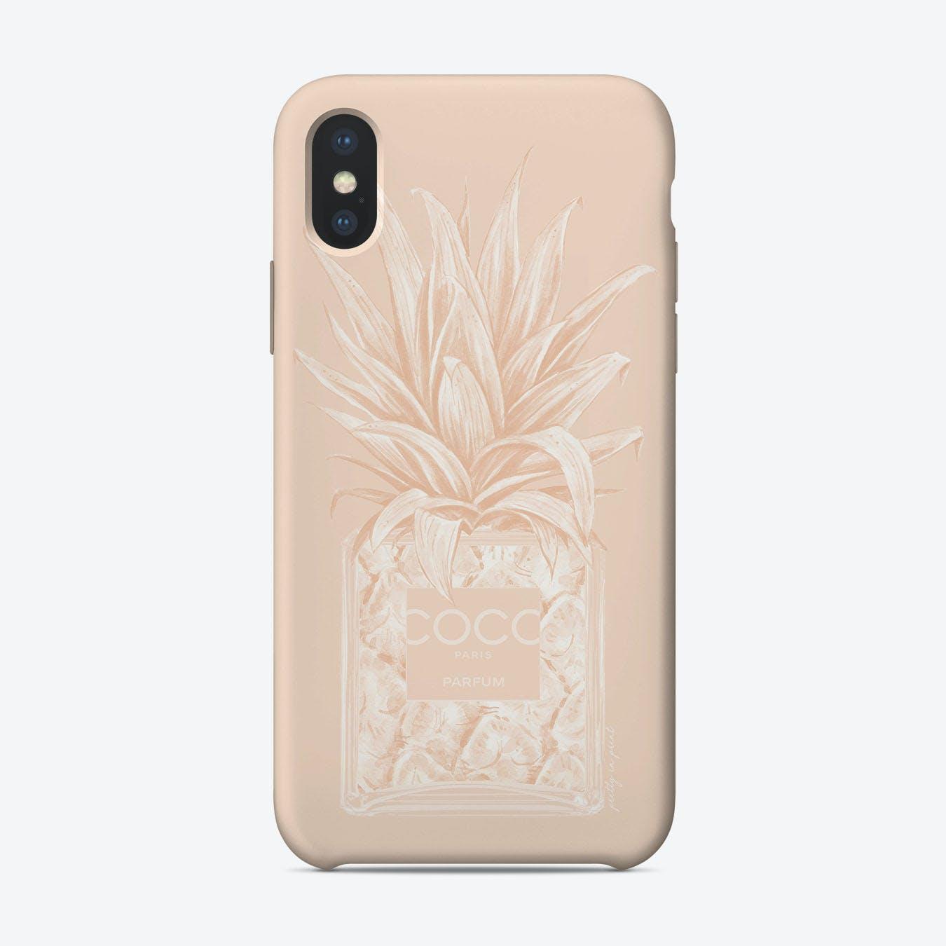 Chanel Pineapple II iPhone Case