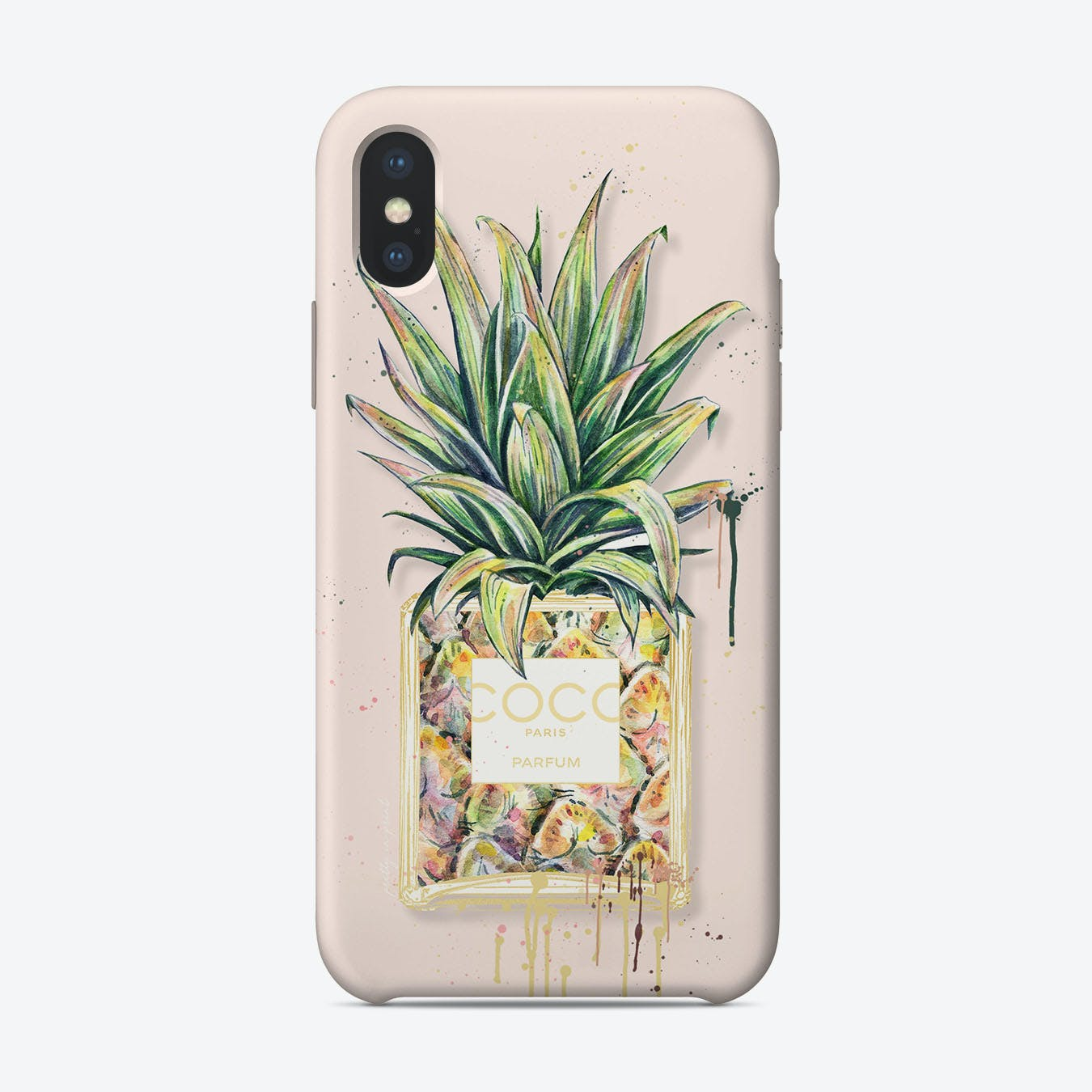 Chanel Pineapple iPhone Case