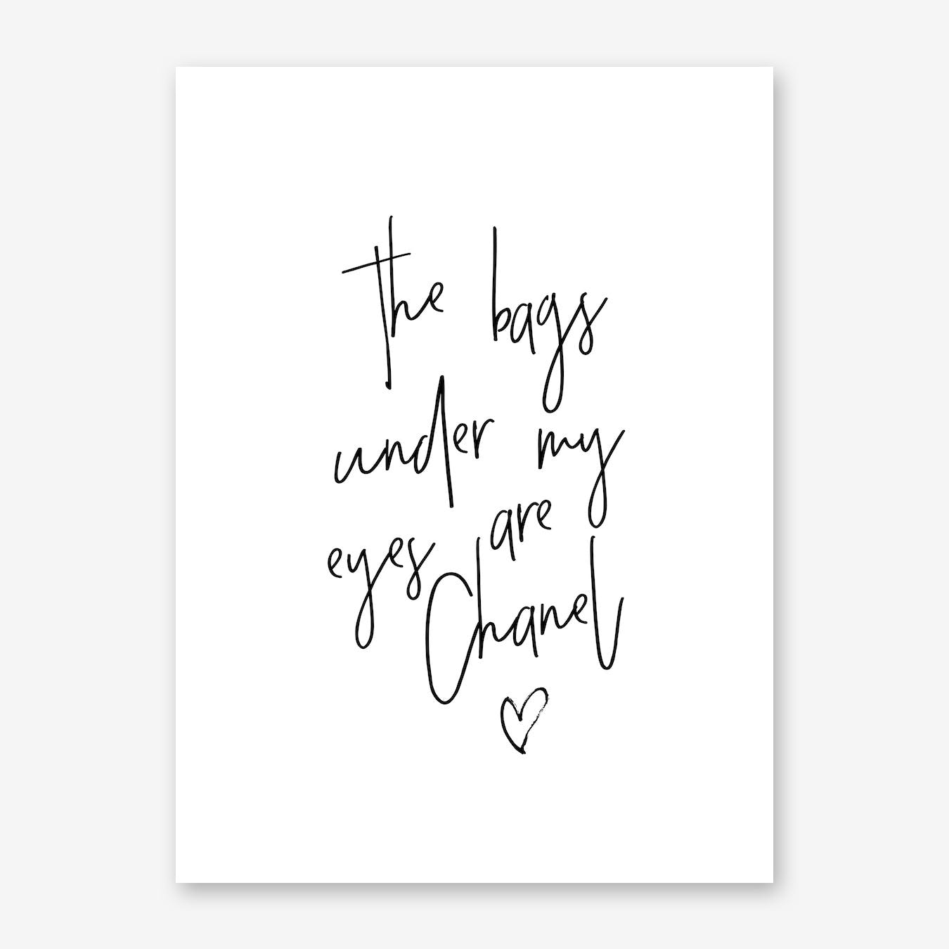 Chanel Bags Quote